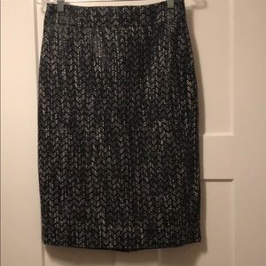 Jcrew tweed pencil skirt